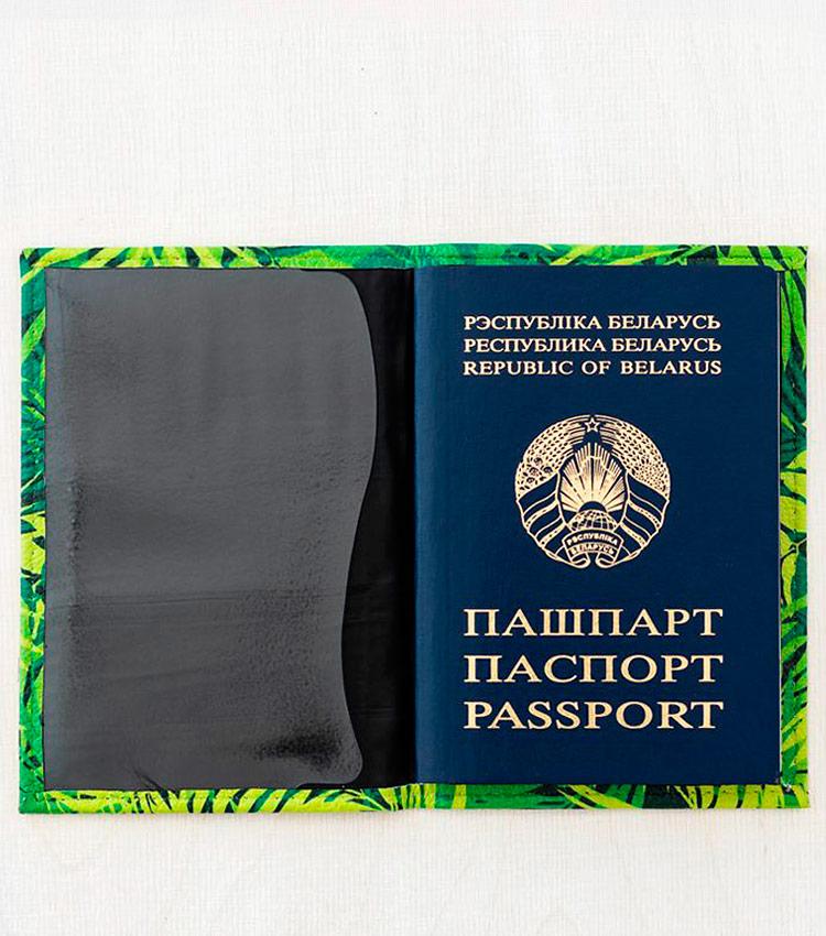 Обложка для паспорта Vokladki «Тропики»