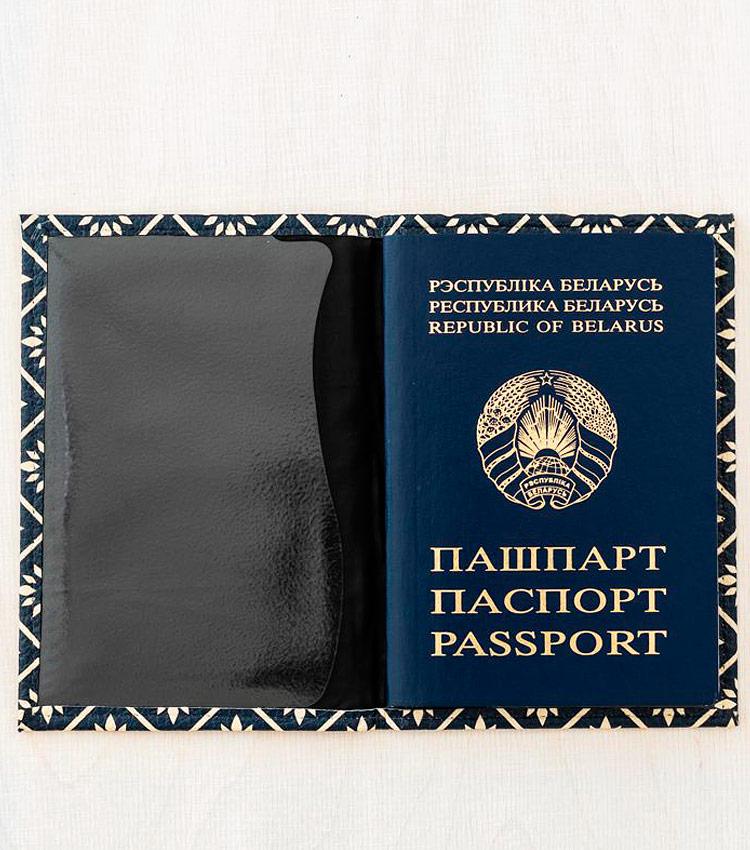Обложка для паспорта Vokladki «Узор»