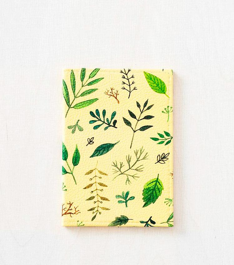 Обложка для паспорта Vokladki «Флора»