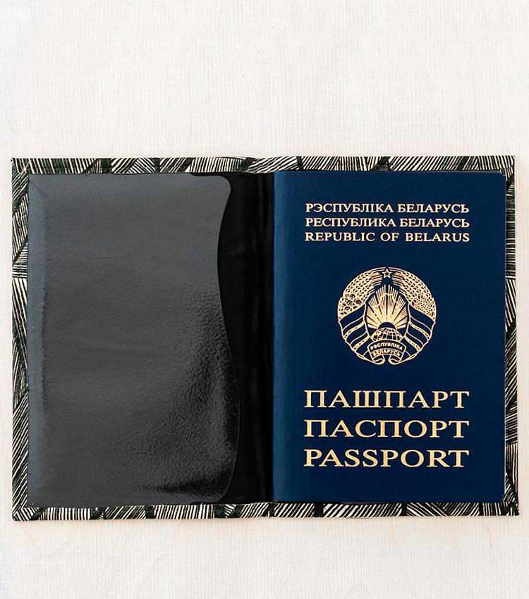 Обложка для паспорта Vokladki «Штрихи»