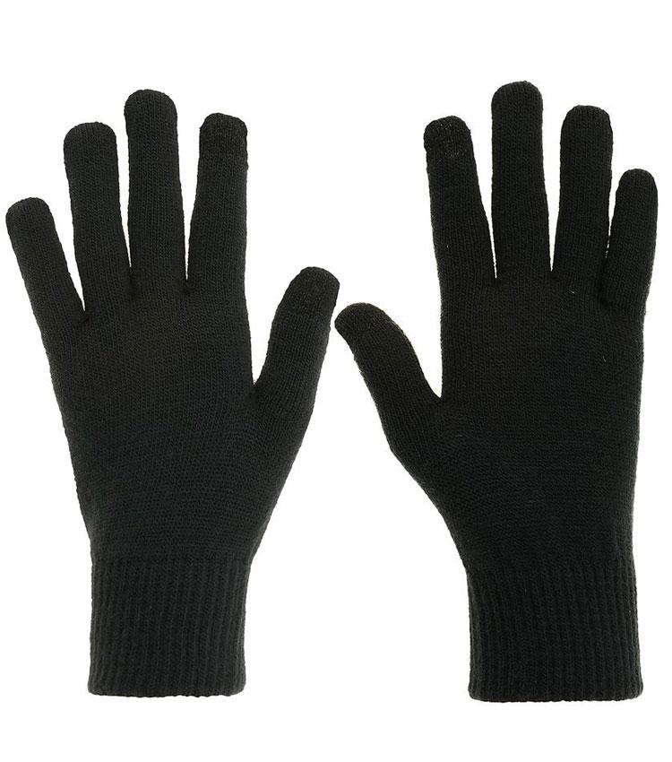 Перчатки QUECHUA EXPLOR 550 угольно-серые