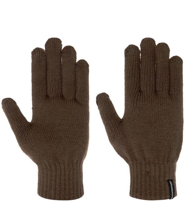 Перчатки Outventure Unisex Knitted коричневые