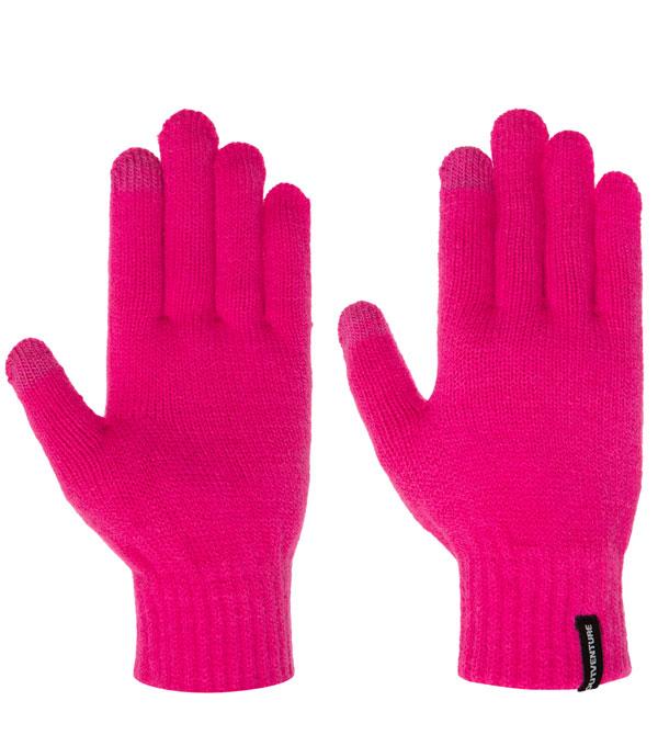 Перчатки Outventure Unisex Knitted пионовые