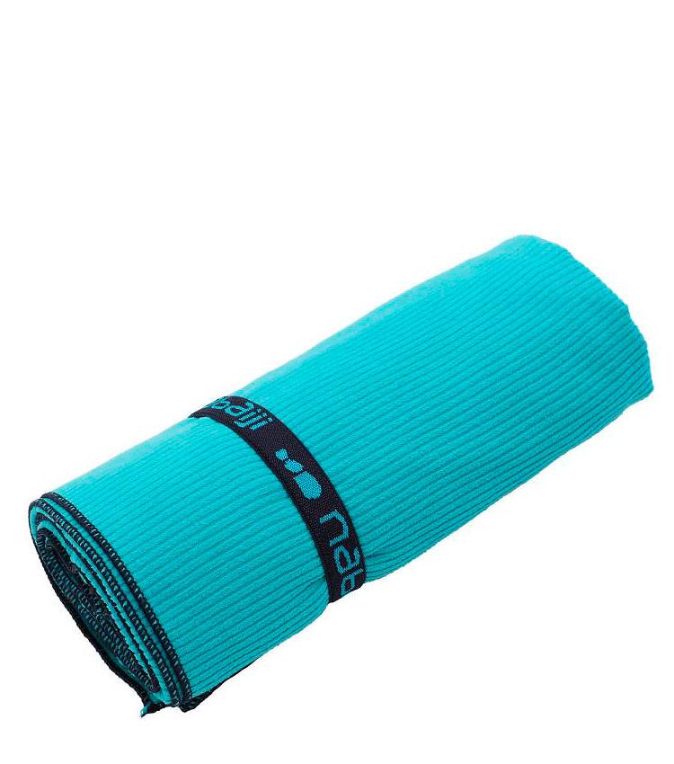 Полотенце из микрофибры в полоску размер L NABAIJI - blue