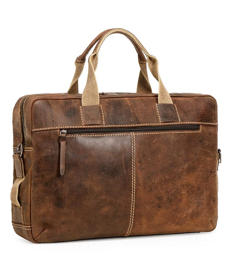 Портфель кожаный Wenger W23-10Br Arizona