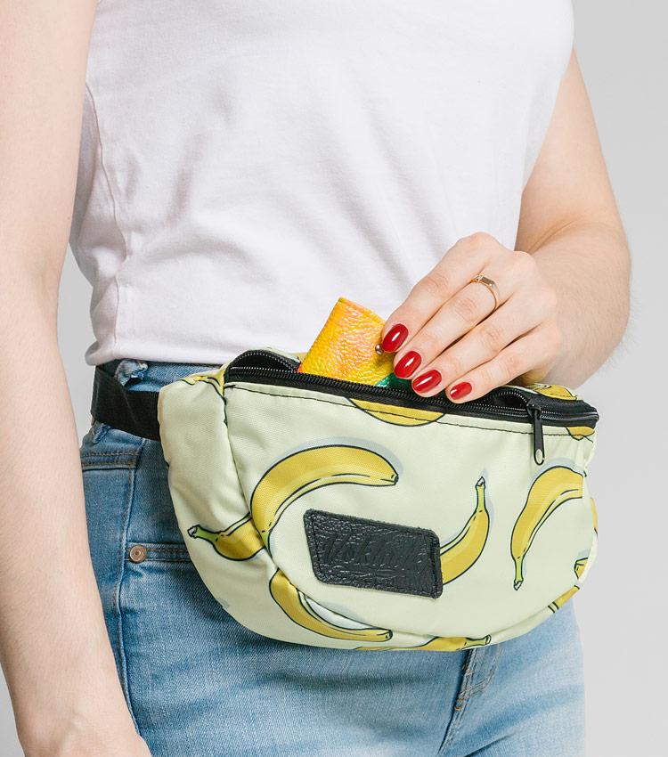 Поясная сумка Vokladki «Бананы»