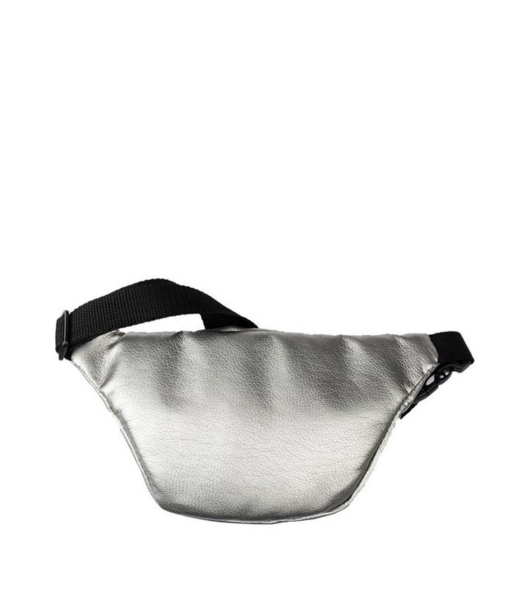 Поясная сумка мини Vokladki «Фламинго-сильвер»