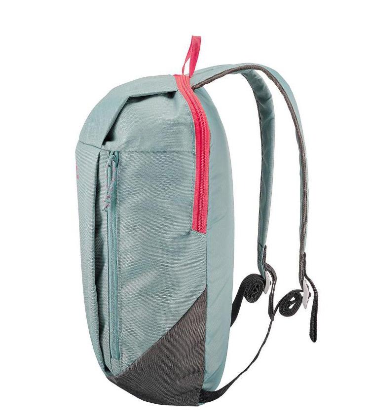 Рюкзак NH100 10 Л QUECHUA - gray green