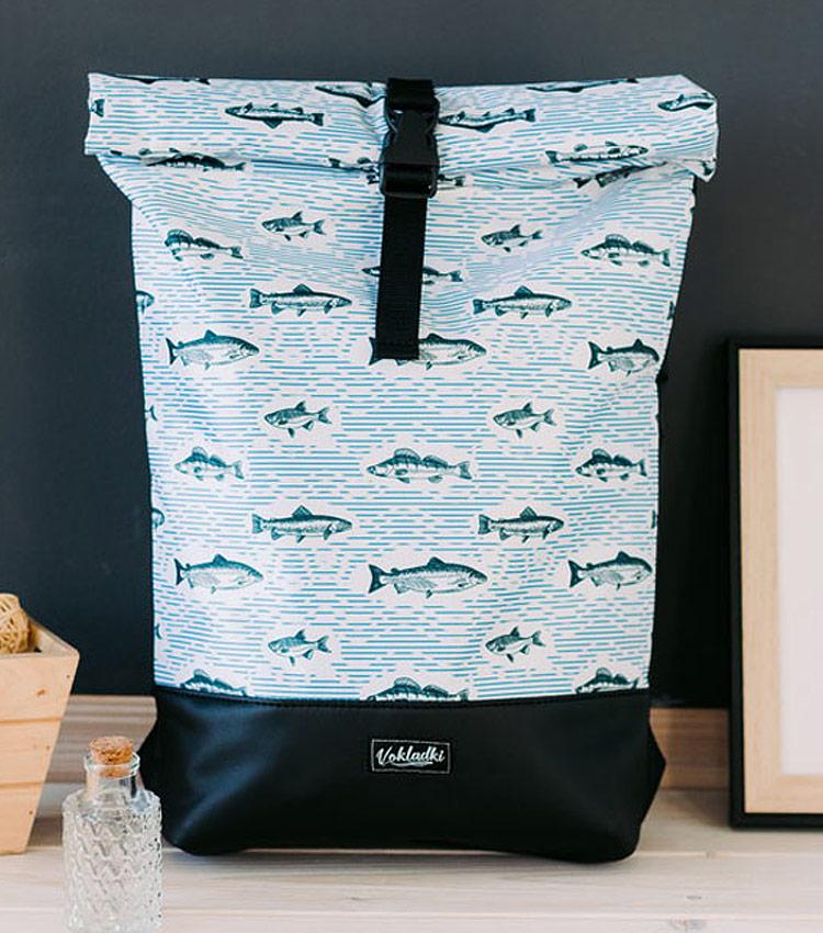 Рюкзак Vokladki ролл «Рыбки»