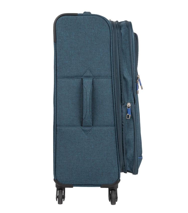 Малый чемодан Polar Р18А07 dark-blue (55 см) ~ручная кладь~