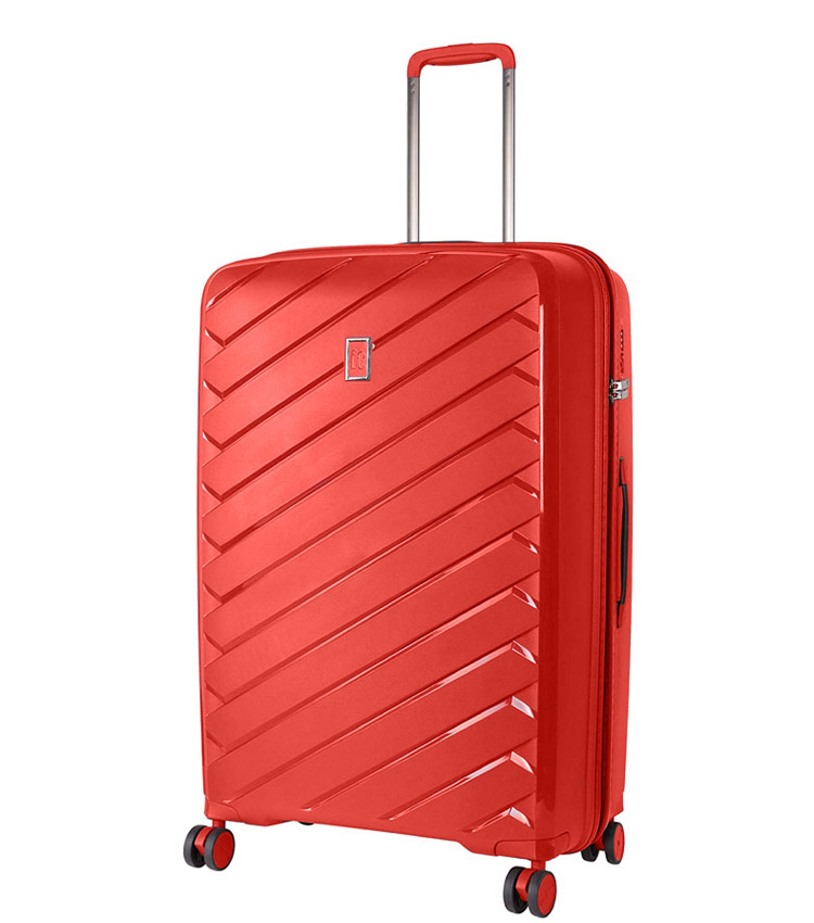 Средний чемодан IT Luggage Influential 15-2588-08 (69 см) - Hot coral