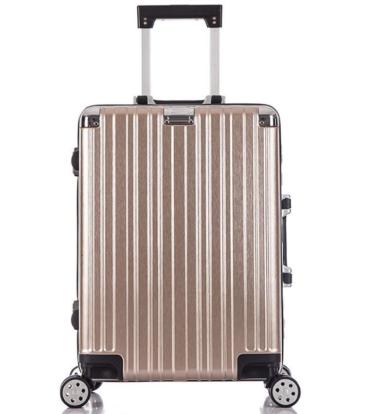 Средний чемодан спиннер Lcase Abu Dhabi gold (68 см)