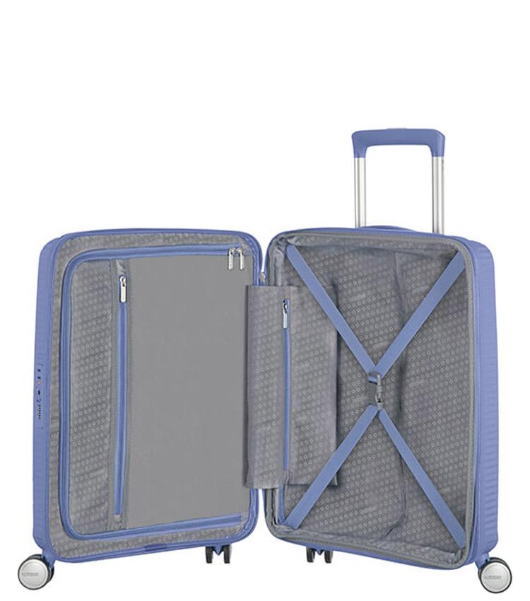 Средний чемодан American Tourister 32G*11002 Soundbox (67 см) - Denim Blue
