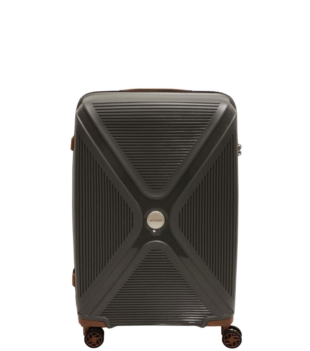 Средний чемодан L-case Berlin gray