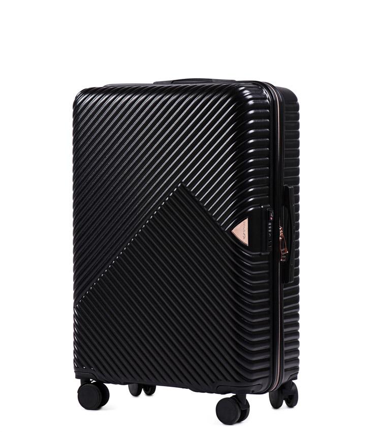 Средний чемодан Wings Dove WN01-4 - Black (65 см)