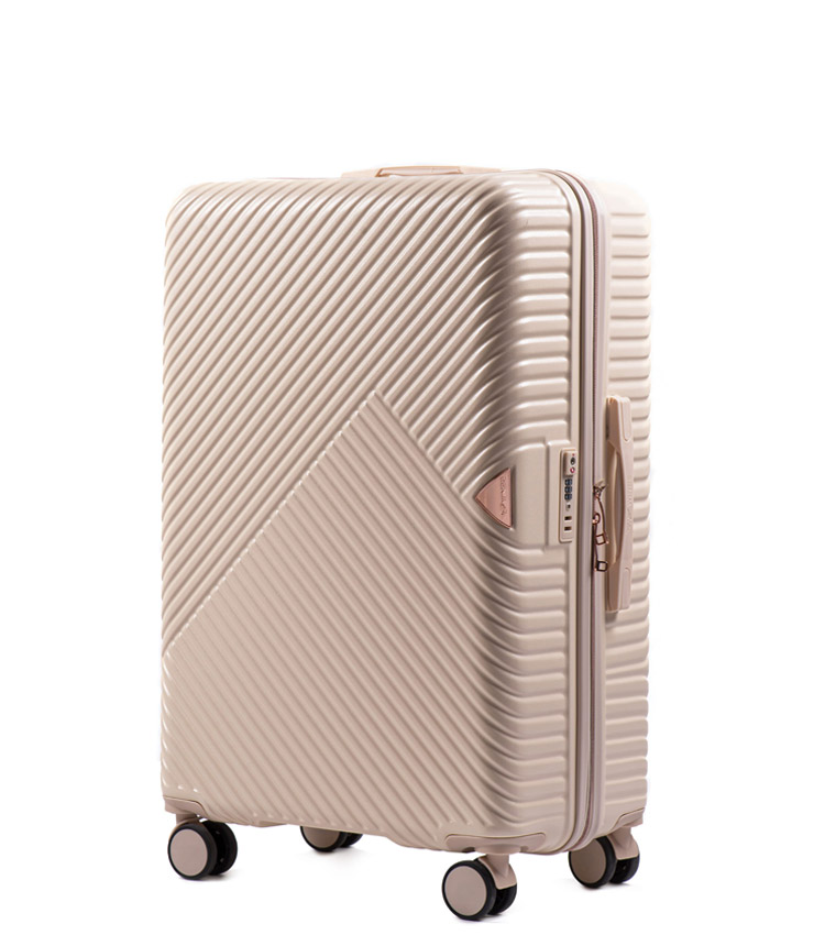 Средний чемодан Wings Dove WN01-4 - Dirty White (65 см)