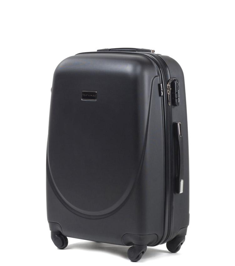 Средний чемодан Wings Goose 310-4 - Black (65 см)
