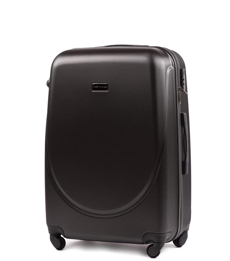 Средний чемодан Wings Goose 310-4 - Dark grey (65 см)