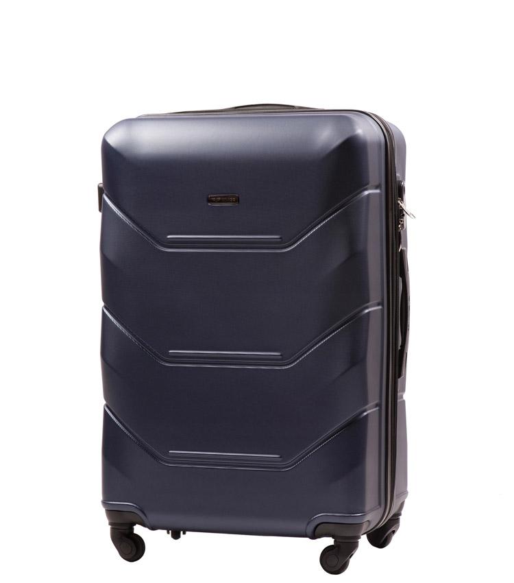 Средний чемодан Wings Peacock 147-4 - Blue (65 см)
