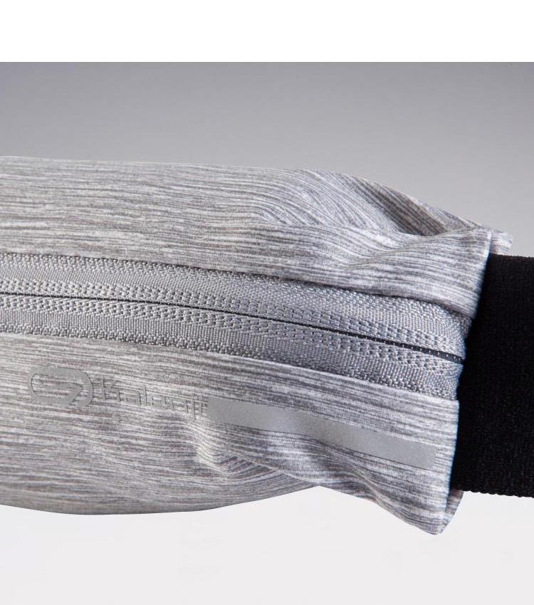 Сумка-ремень для смартфона KALENJI - серый