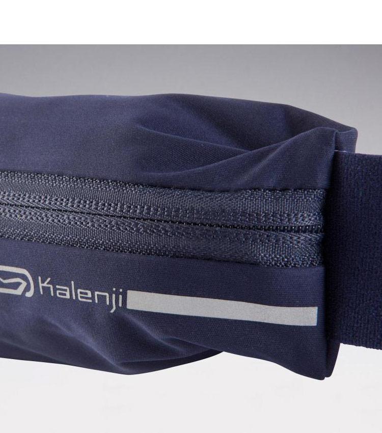Сумка-ремень для смартфона KALENJI - синий графит