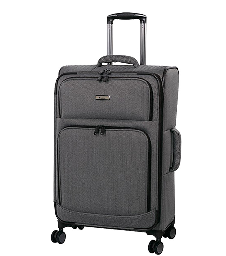 Средний чемодан IT Luggage Esteemed 12-2454-08 (71 см) - Dark beige herringbone