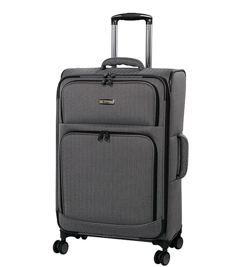 Средний чемодан IT Luggage Esteemed 12-2454-08 (71 см) - Dark beige herringbone