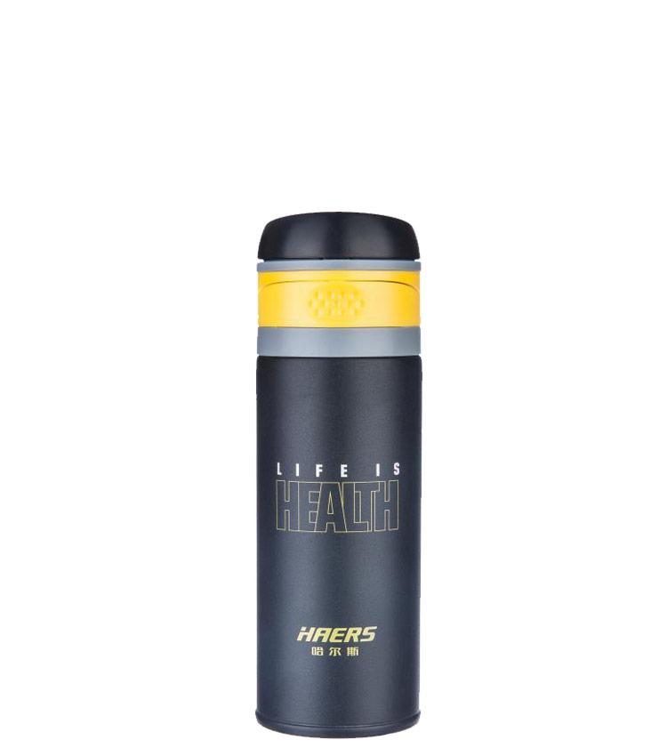 Термос HAERS HDO-400-18 400 мл. - чёрный