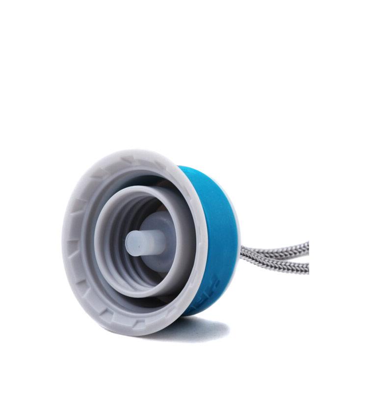Термос HAERS HD-450А 450 мл. - синий