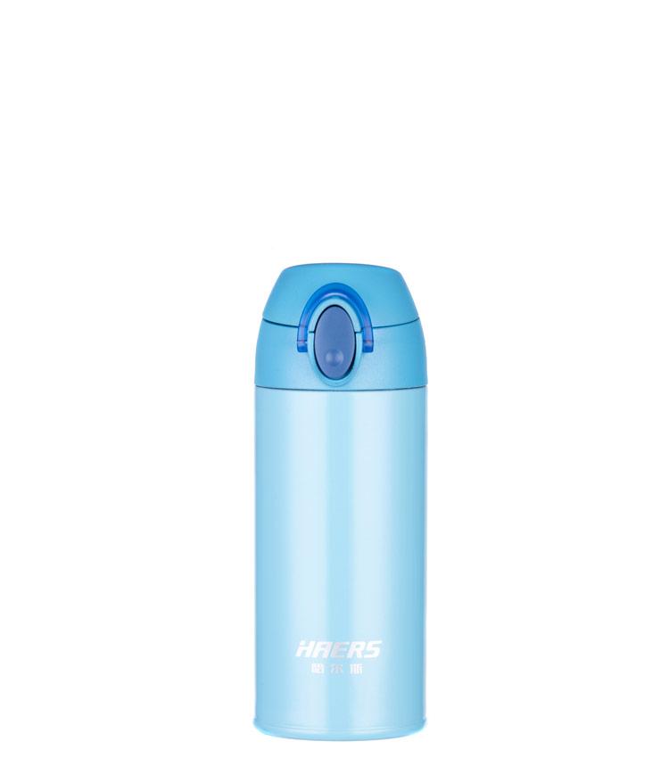 Термос HAERS HD-350-24 350 мл. - голубой