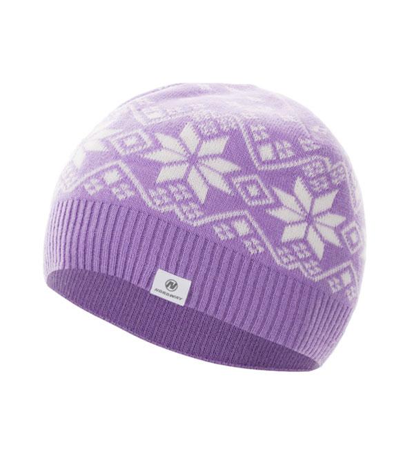 Шапка для девочек Nordway фиолетовая (N6GXC1)
