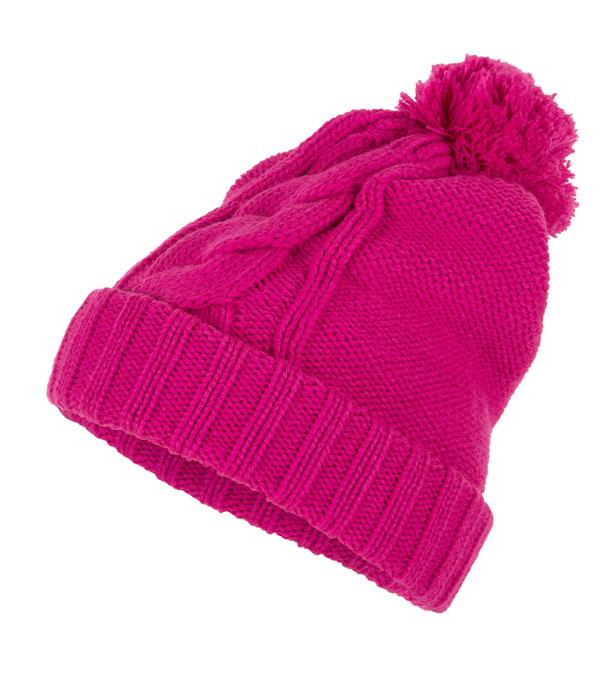 Шапка для девочек Outventure розовая (JGS20X)