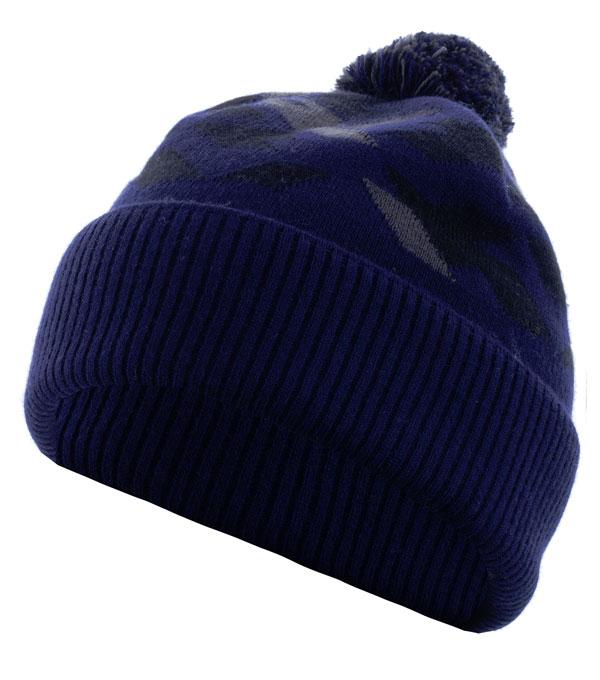 Шапка мужская Glissade темно-синяя (G6MUC1)