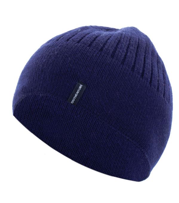 Шапка мужская Outventure синяя (JUS107)