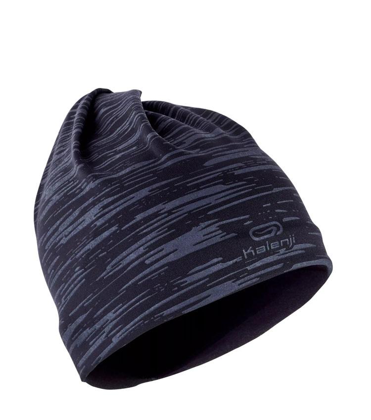 Шарф-бандана KALENJI RUN WARM+ - Black/Grey