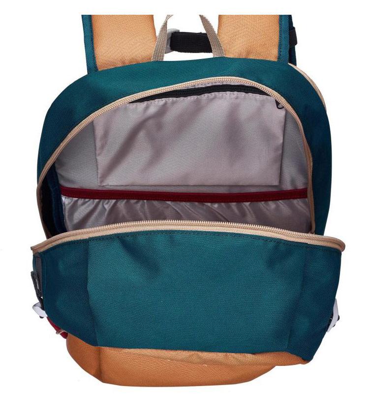 Рюкзак QUECHUA NH100 20 л - ореховый-бордо