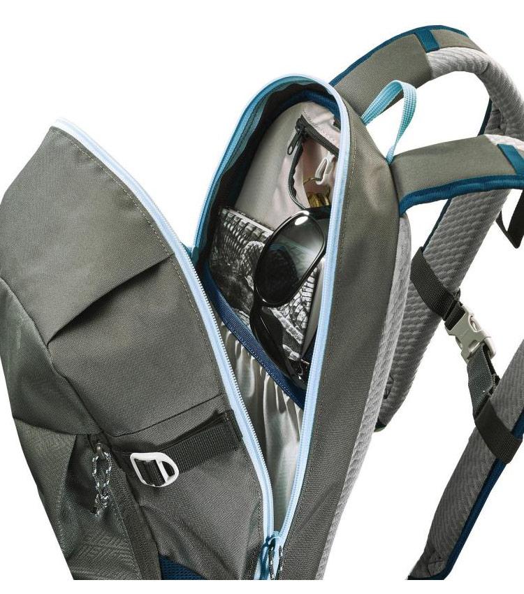 Рюкзак QUECHUA NH100 20 л - пепельный хаки