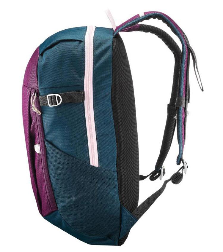 Рюкзак QUECHUA NH100 20 л - сливово-бордовый