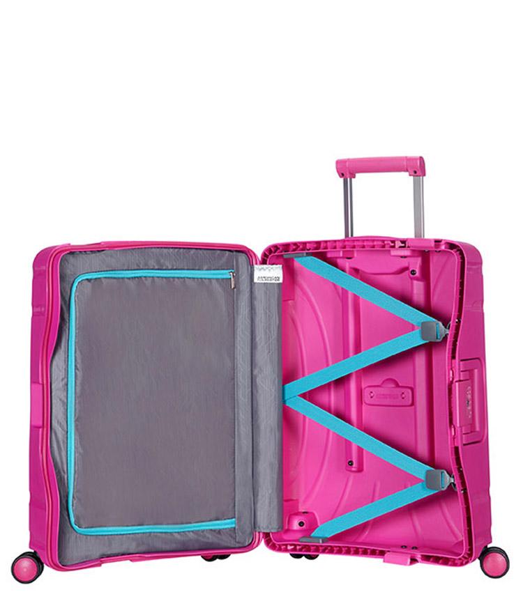 Малый чемодан American Tourister Lock n Roll 06G*90003 (55 см) Dynamic Pink ~ручная кладь~