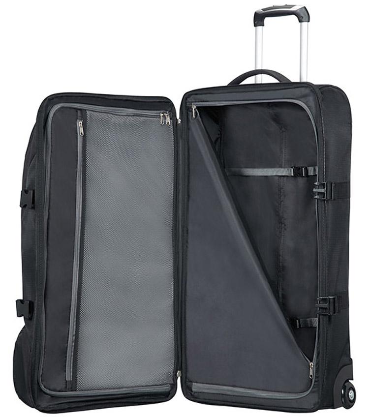 Сумка на колесах American Tourister ROAD QUEST 16G*09003 (80 см) - Solid black