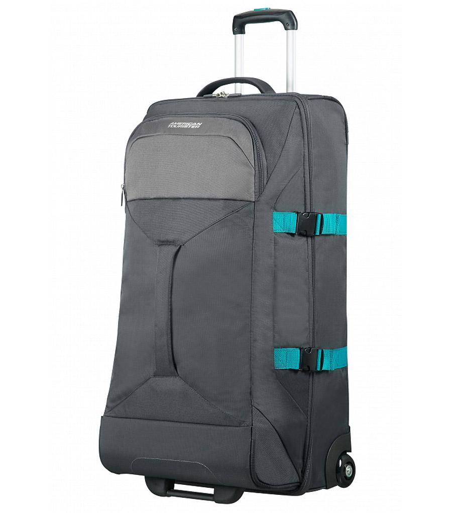 Большая сумка на колесах American Tourister ROAD QUEST 16G*18003 (80 см) - Grey