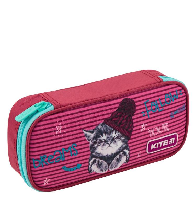 Школьный пенал Kite Fluffy Animals 19-662-3