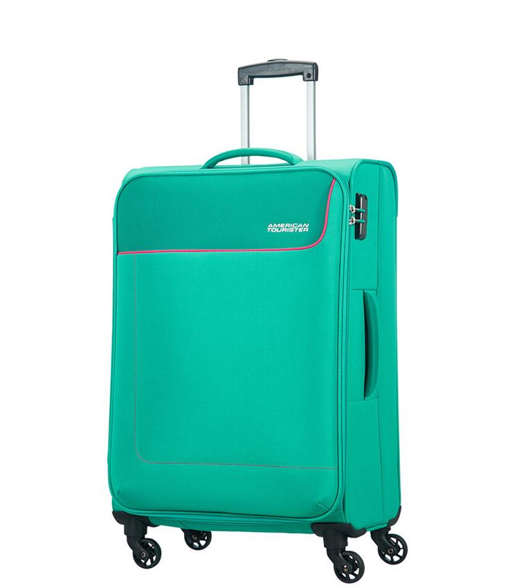 Средний чемодан American Tourister 20G*34003 Funshine (66 см) - Aqua Green