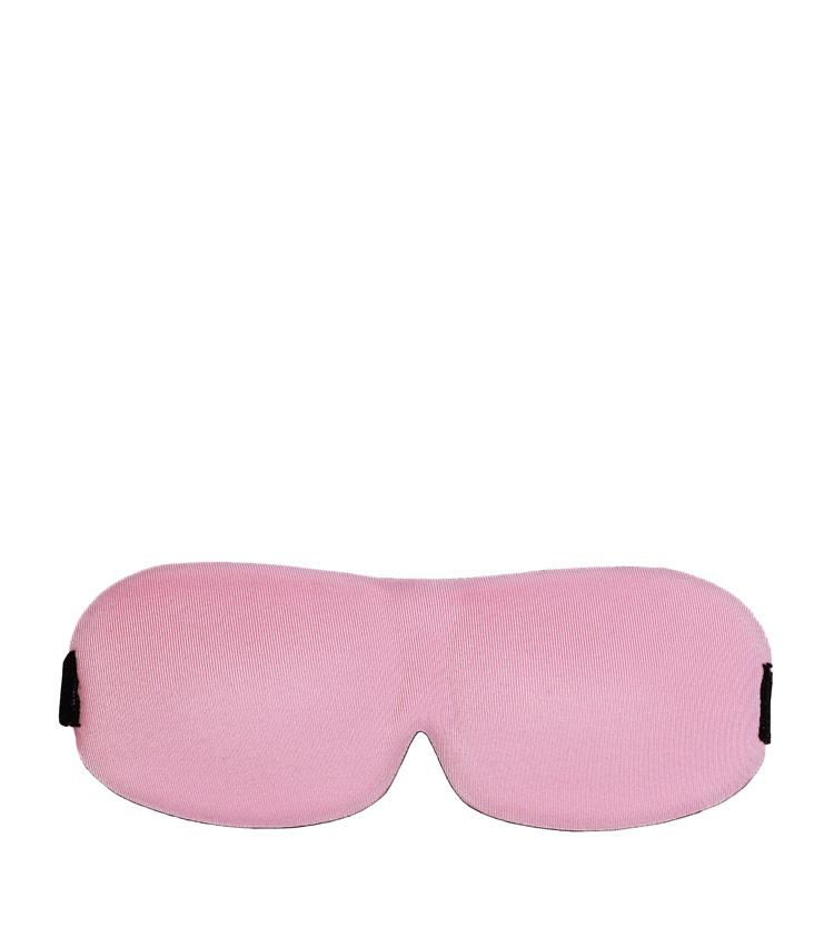 Затемняющая маска на глаза Pleasant journey - pink&black