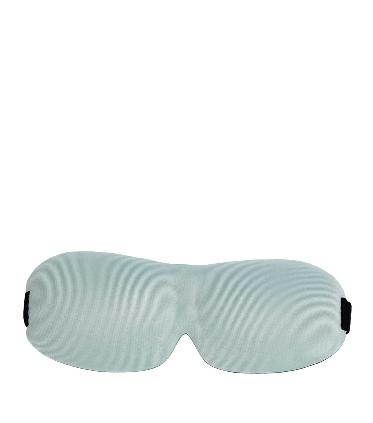 Затемняющая маска на глаза Pleasant journey - blue&black
