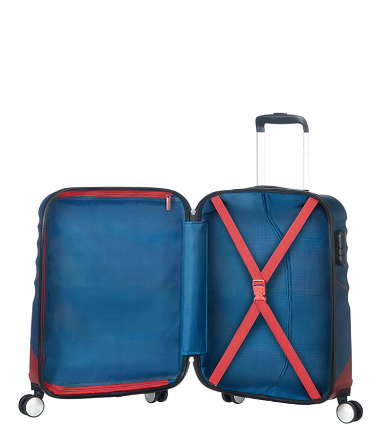 Малый чемодан American Tourister WAVEBREAKER DISNEY 31C*22002 (55 см) Captain America Close-Up ~ручная кладь~