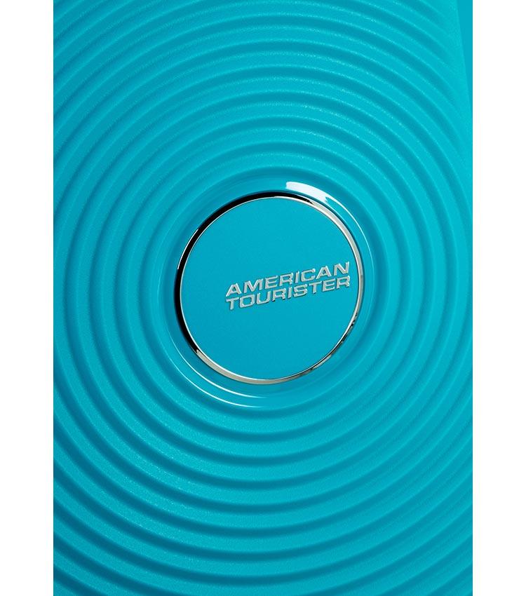Малый чемодан American Tourister 32G*01001 Soundbox Spinner (55 см) ~ручная кладь~