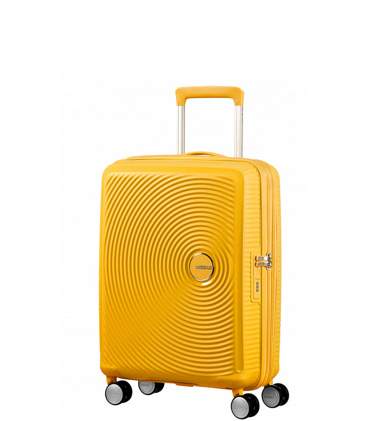 Малый чемодан American Tourister 32G*06001 Soundbox Spinner (55 см) ~ручная кладь~