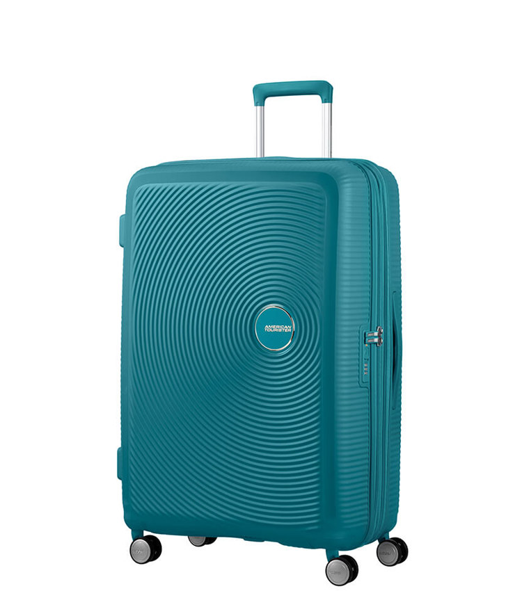 Средний чемодан American Tourister Soundbox Spinner Expandable 32G*14002 (67 см) Jade Green
