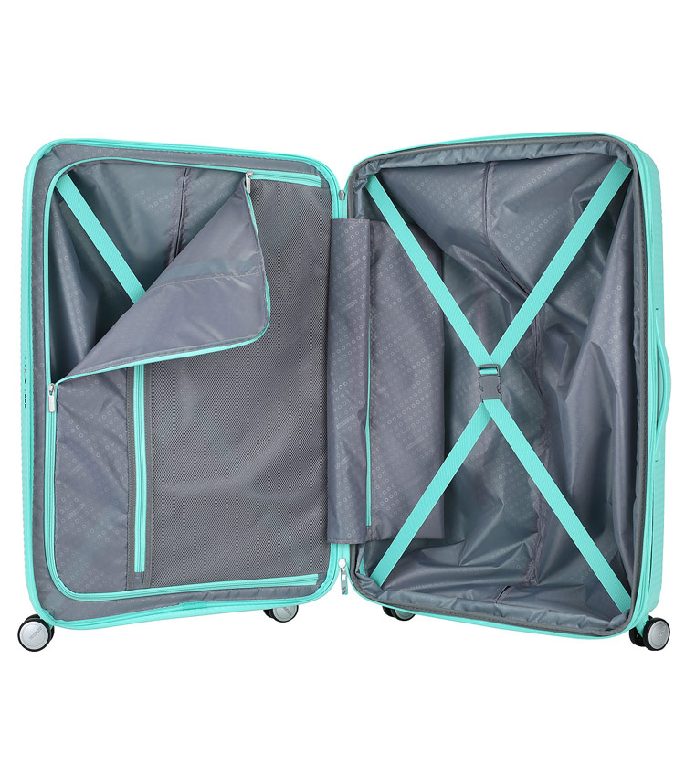 Большой чемодан American Tourister Soundbox (32G*34003) DEEP MINT(77 см)